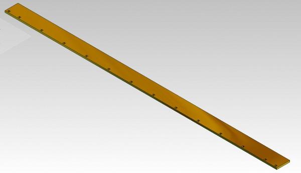 Schürfleiste Fräse Typ 900 / 2600