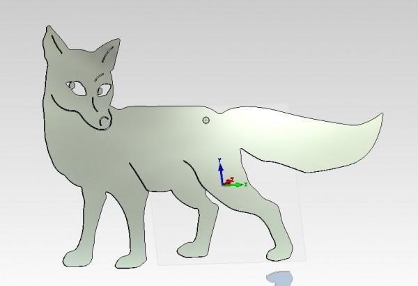 Figur Fuchs 900