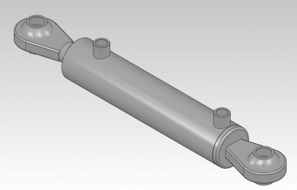 Hydraulikzylinder dw 60 / 35 / 200